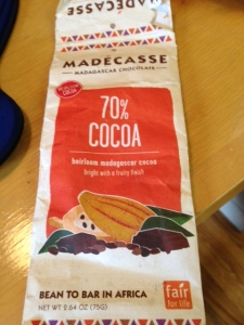 Madecasse, chocolate bar, fair trade