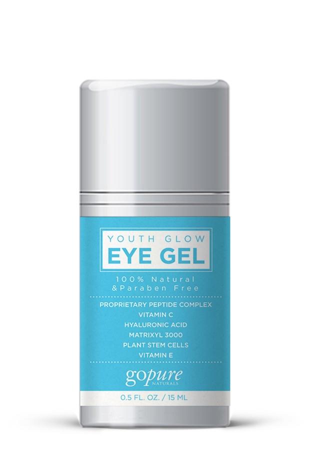 gopure youth glow eye gel